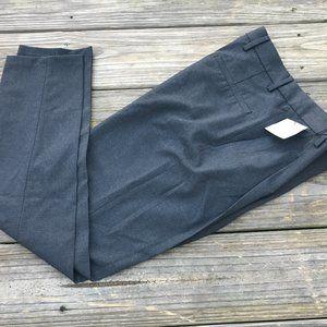 Zara Men Pants Gray Textured Stretch Pants Size 28